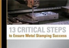 13 Critical Steps to Ensure Metal Stamping Success-Image