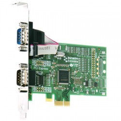 2 Port RS232 PCI Express Serial Card-Image
