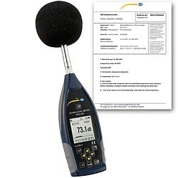 Class 2 Data-Logging Noise Meter PCE-428-Image