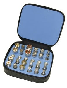 Universal Adapter Kit Now in White Bronze Plating-Image