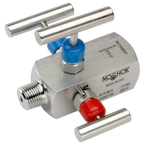 3-VALVE DOUBLE BLOCK & BLEED VALVES -Image