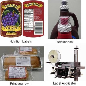 Labels & Equipment for Food & Beverage Industry-Image