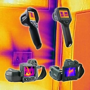 IR Camera For Building and Home Inspection Video-Image