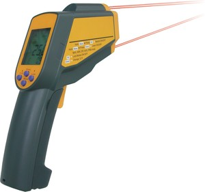 IR THERMOMETER c/w BUILT IN FLASHLIGHT: MDL IR-50-Image