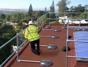 KeeGuard Roof Railings with PVC Counterbalances-Image