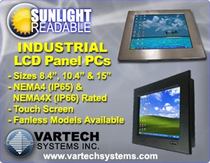 Sunlight Readable Industrial Panel PCs-Image