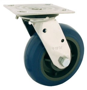 Stainless Casters provide long term durability-Image