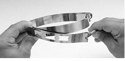 Adjustable Diameter T-Bolt Band Clamps-Image