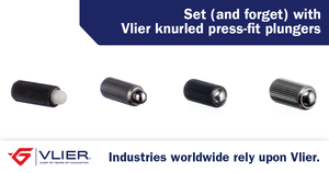 Set (and forget) with knurled press-fit plungers-Image