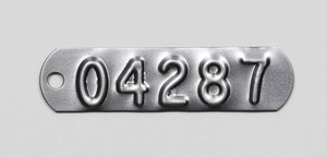 Serialized Metal Tags-Image