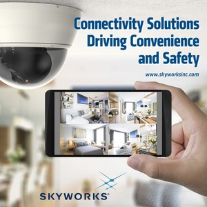 SKYWORKS ENABLES TOP SMART HOME SECURITY SYSTEMS-Image