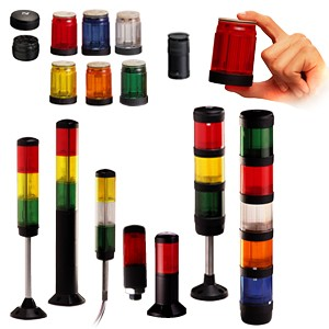 Stack Lights for Mfg Process Indication-Image