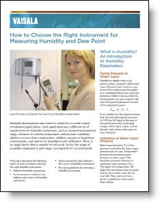 Choose the Right Instrument for Measuring Humidity-Image