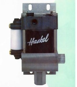 Compact, high pressure air driven liquid pump-Image