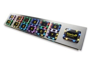 OLED Programmable Button Panel-Image