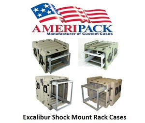 Excalibur Shock Mount Rack Cases-Image