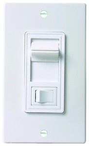 Combination On/Off Wall Switch & Slide Dimmer-Image