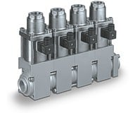 co-ax manifolds reduce cost, complexity and size -Image