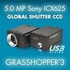 USB3 Vision Camera with Sony's 5.0 MP ICX625 CCD-Image