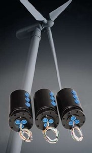 Rotary Unions for Wind Turbine Pitch Control-Image