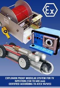 Pipe Inspection System - Explosion Proof-Image