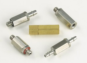 Miniature 10-32 and M3 Check Valves -Image