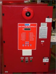 Phase 3 Diesel Fire Pump Controller B7 -Image