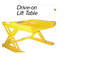 Drive-On Lift Tables from Econo Lift-Image