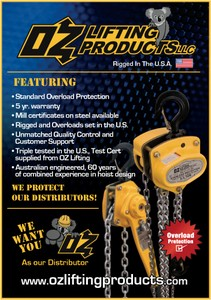 OZ Lifting seeking distributors-Image