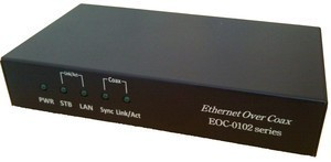 EOC-0101x A media converter for Coax to RJ-45-Image