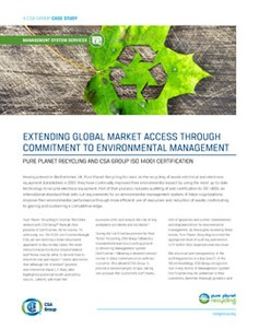Global Market Access - Environmental Management-Image