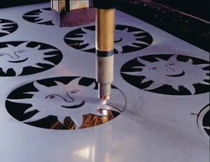 Cutting thin material with Powermax air plasma-Image