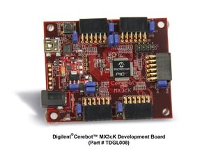 Microchip and Digilent® Unveil PIC32based Cerebot™-Image