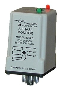 Model 252 - 3-Phase Monitor www.Time-Mark.com-Image