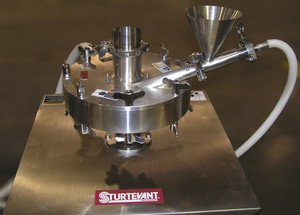 Sturtevant Micronizer for Agricultural Chemicals-Image