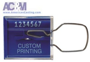 Clear Plastic Tamper-Evident Seal - Model XPC-2-Image