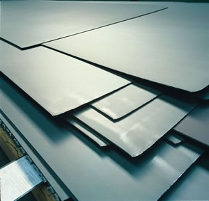 Specialty Metals and Alloys Sheet from Stock-Image