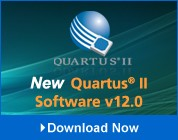 New Quartus II Software v12.0-Image