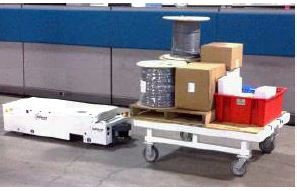 Automatic Guided Vehicle/Compact Load Transporter.-Image
