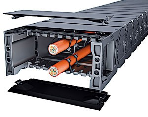 CoverTrax 1555 Extreme Protection Cable Carrier-Image