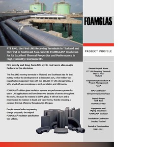 PTT LNG / THAILAND SELECTS FOAMGLAS INSULATION-Image