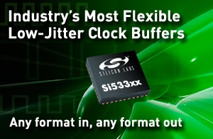 Si533xx Low-Jitter Clock Buffer ICs-Image