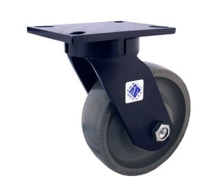 Inventor of Heavy Duty Kingpinless Casters-Image