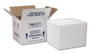 Standard Insulated Foam Containers-Image