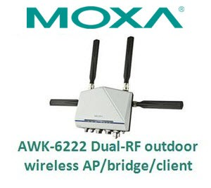 Advanced Wireless AP/ Bridge/ Client - AWK-6222-Image