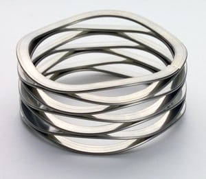 Stainless Steel Wave Springs From Stock-Image