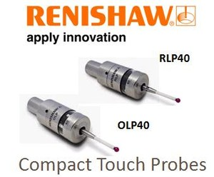 OLP40 and RLP40 Compact Touch Probes-Image