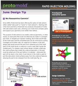 Design Tips for injection molding-Image
