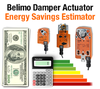 Damper Actuator Energy Savings Estimator Tool-Image
