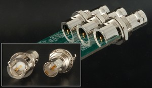 """Space-Saver"" PC Board Edge-Mounted BNC Connector-Image"